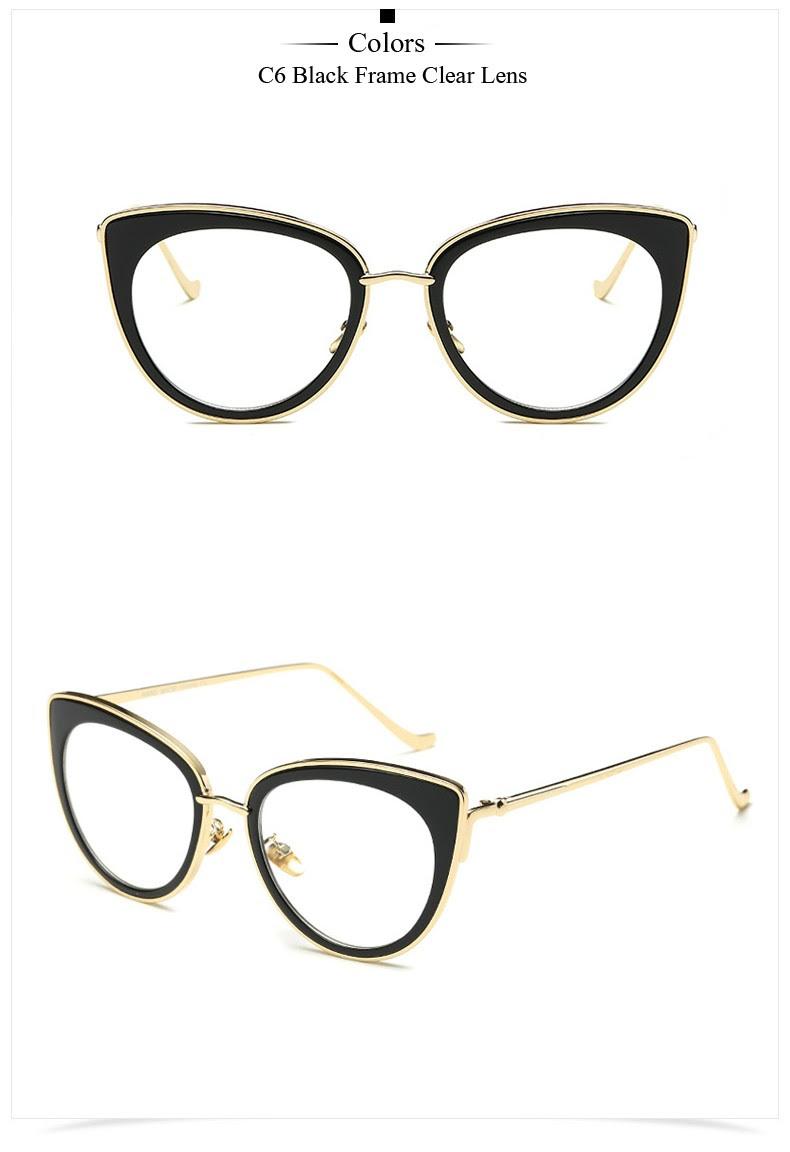 Satın Al Toptan Satış Yüksek Kalite Gözlük çerçevesi Moda Kadın