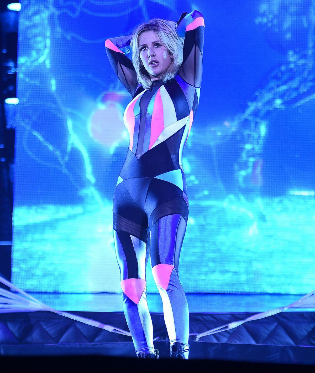 ELLIE GOULDING Performs at Sportpaleis in Antwerpen 02/09/2016