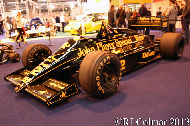 Lotus Renault 98T, Autsport International, NEC, Birmingham