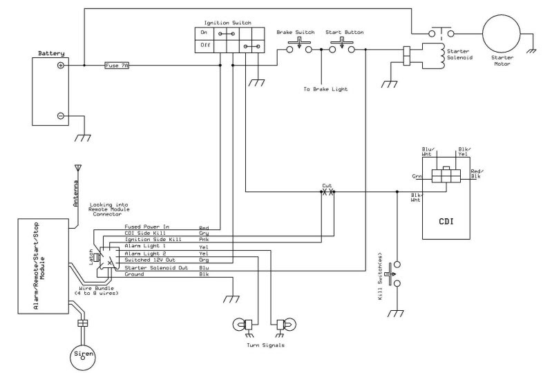 19 Lovely Atv Starter Solenoid Wiring Diagram