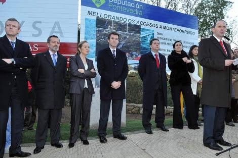 Fomento otorga cuatro millones a la circunvalación y confirma la autovía única entre Pontevedra y Vigo que unirá O Confurco, al Sur, con Curro (Barro) al Norte