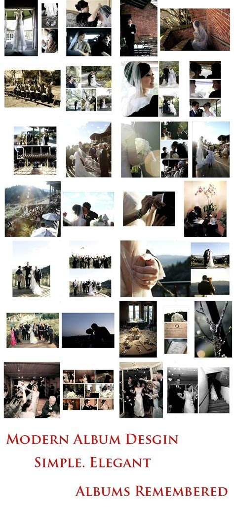 17 Best ideas about Wedding Album Layout on Pinterest