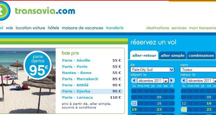 Vol Sec Tunisie Avec Transavia Mes Astuces Pour Un Billet