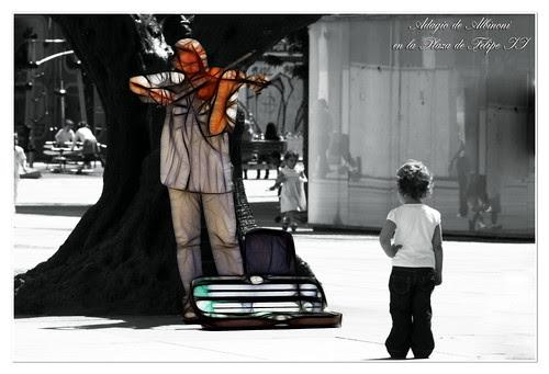 adagio de Albinoni en la Plaza de Felipe II