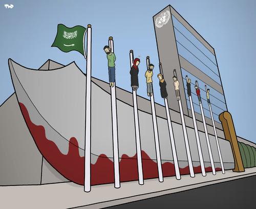 La Saoudie et l'ONU, par Tjeerd Royaards, Pays-Bas