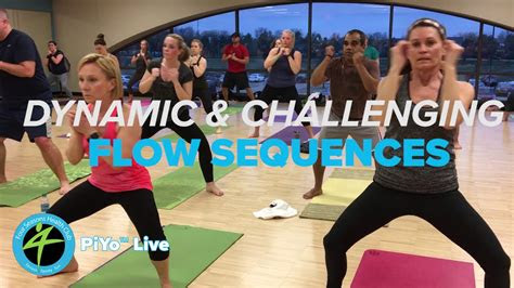 piyo  mind body group fitness class youtube