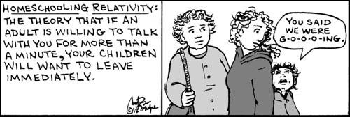Home Spun comic strip #728