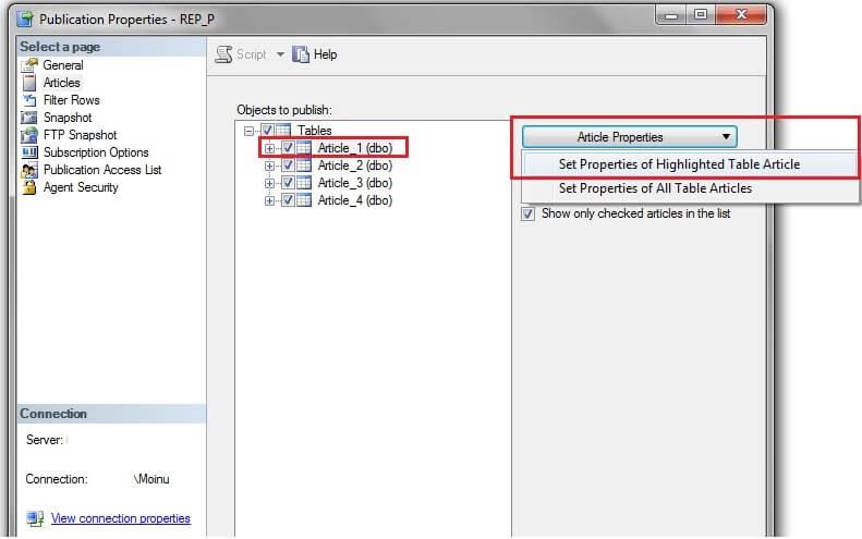 Cambodia & World: Options to not replicate SQL Server DELETE commands