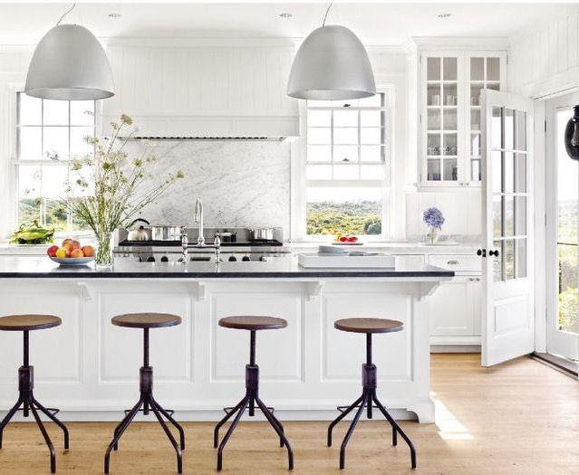 A Nantucket Kitchen Designed by Victoria Hagan
