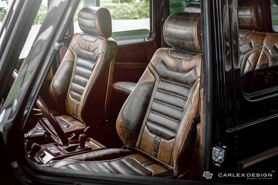 Mercedes G-Class Vintage Interior by Carlex Design