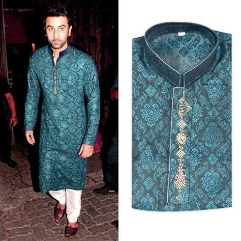 New Fashion Men Pakistan Indian Kurta Shalwar Fancy Eid