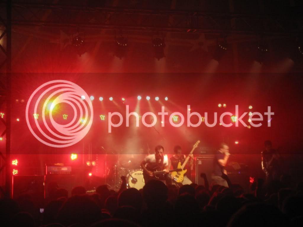 Dillinger Escape Plan play Furia Sound Festival 2009