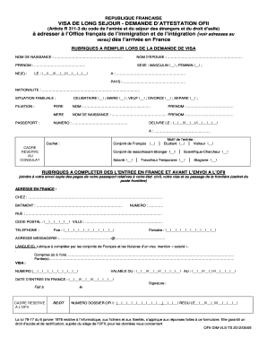 Download Ofii Form In English Fill Online Printable