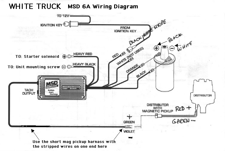 1990 Mustang no start with MSD Blaster 2 Coil and ...