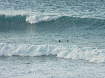 Sesión de surf del 25 de Febrero del 2008 - La Triangu