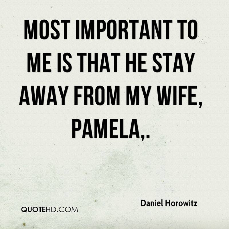Daniel Horowitz Wife Quotes Quotehd