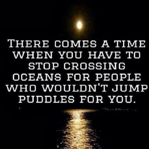 There Comes A Time When You Have To Stop Crossing Oceans For People