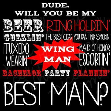 "Best Man Proposal Card ""Beer Guzzlin'"" (Printable File"