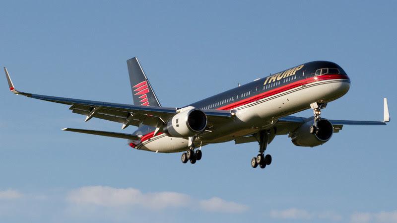 4. Trump's Boeing 757 (Donald Trump) - $ 100 million. Businessmen billionaires, aircraft, private planes