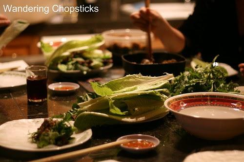10 Thit Nai Xao Xa Cuon Banh Trang (Vietnamese Sauteed Lemongrass Venison Rice Paper Rolls) 1