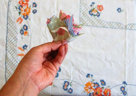 fold in quarters
