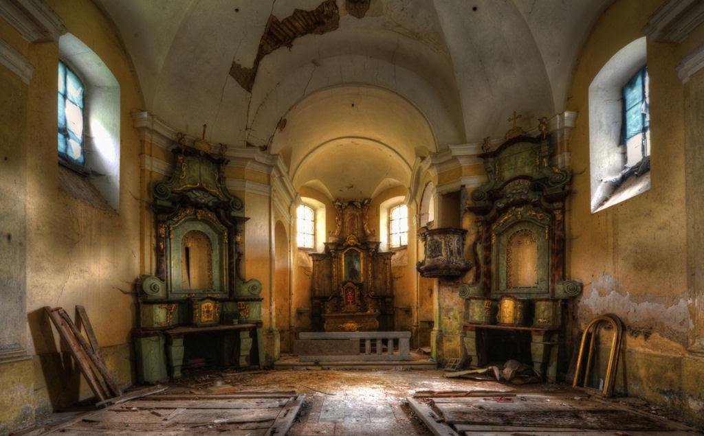 A arte do Urbex - As impressionantes fotografias de Niki Feijen 03