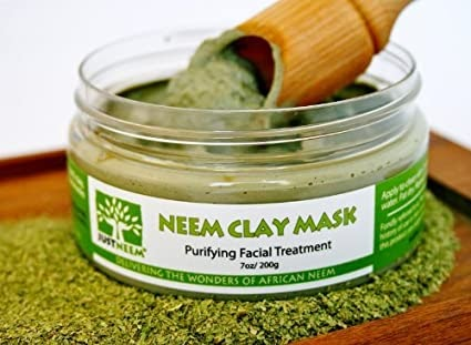 Neem Clay Face Mask as Seen on Dr Oz for Acne Free and Glowing Skin