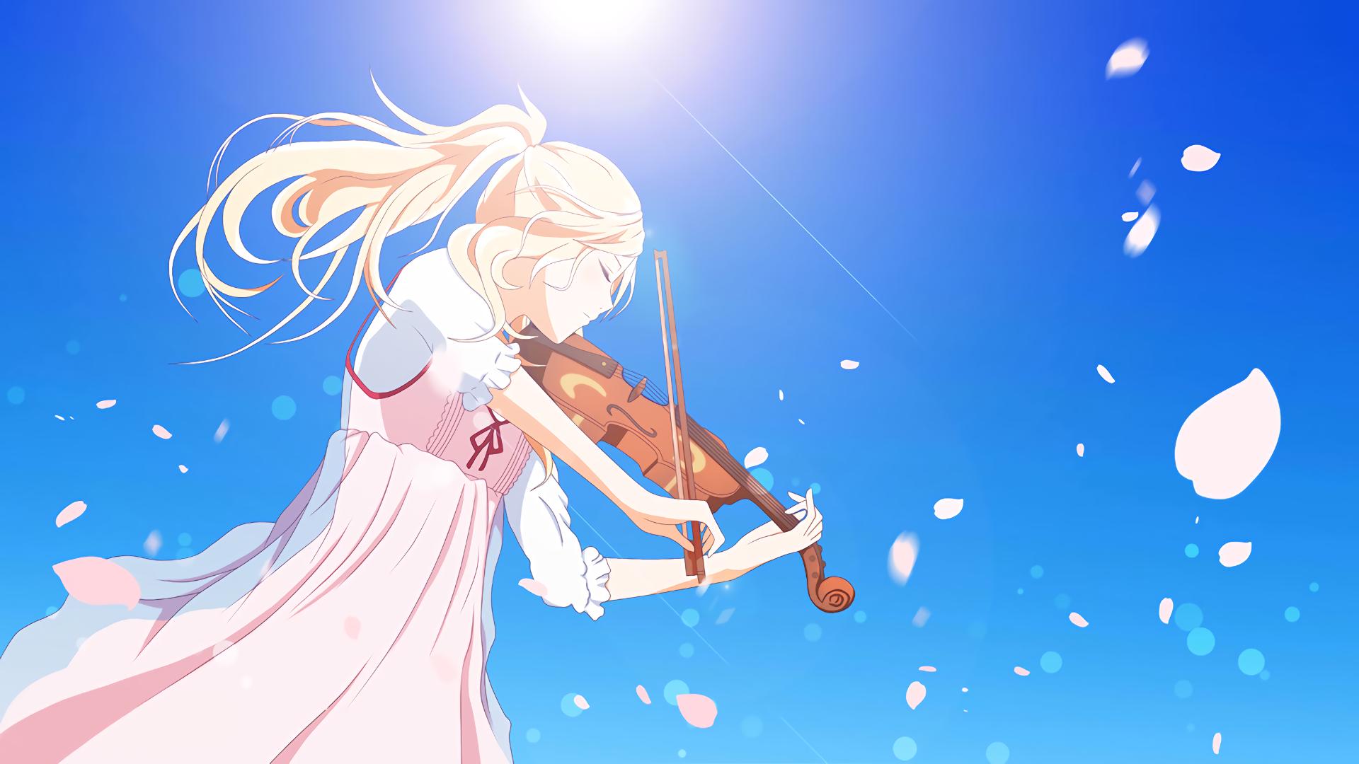 Wallpaper Anime Hd Shigatsu Wa Kimi No Uso Gasebo Wallpaper