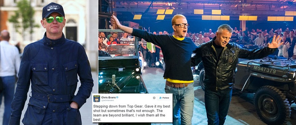 Chris Evans' Top Gear ends series with a record low audience