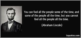 lincoln fool all the people