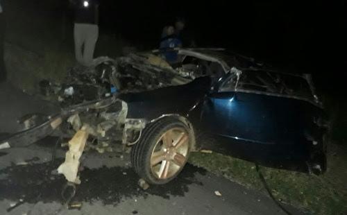 Grave acidente na rodovia Conquista a Planalto