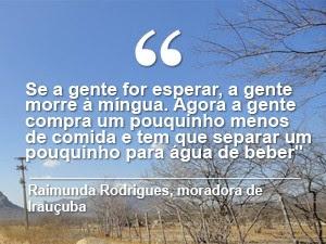frase seca (Foto: André Teixeira/G1)