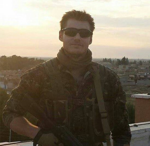 The Lions of Rojava, a band of volunteers that help recruit soldiers to the YPG, claimed he was 'outnumbered and outgunned'