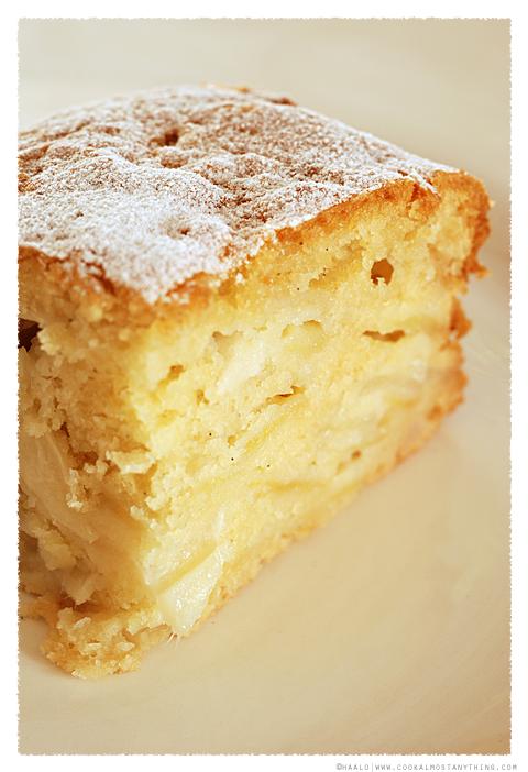 Apple and Jicama Cake© by Haalo