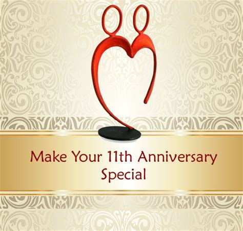 11th Anniversary Traditional Gift   Gift Ftempo