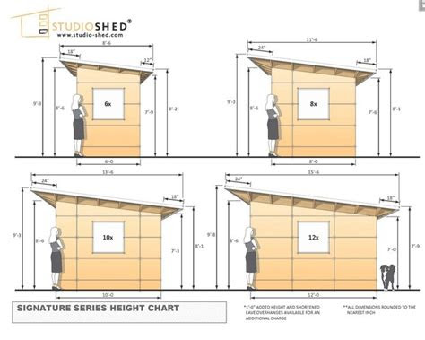 wwwstudio shedcom common dimensions   studio sheds