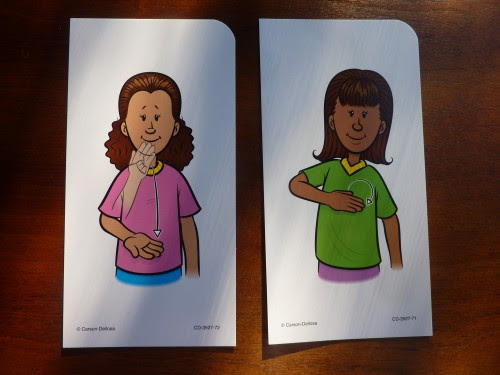 AND here are the signs for THANK YOU and PLEASE. What a fun way to practice manners!