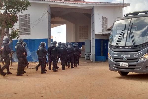 Após revista, agentes encontraram dois túneis no pavilhão 2 de Alcaçuz