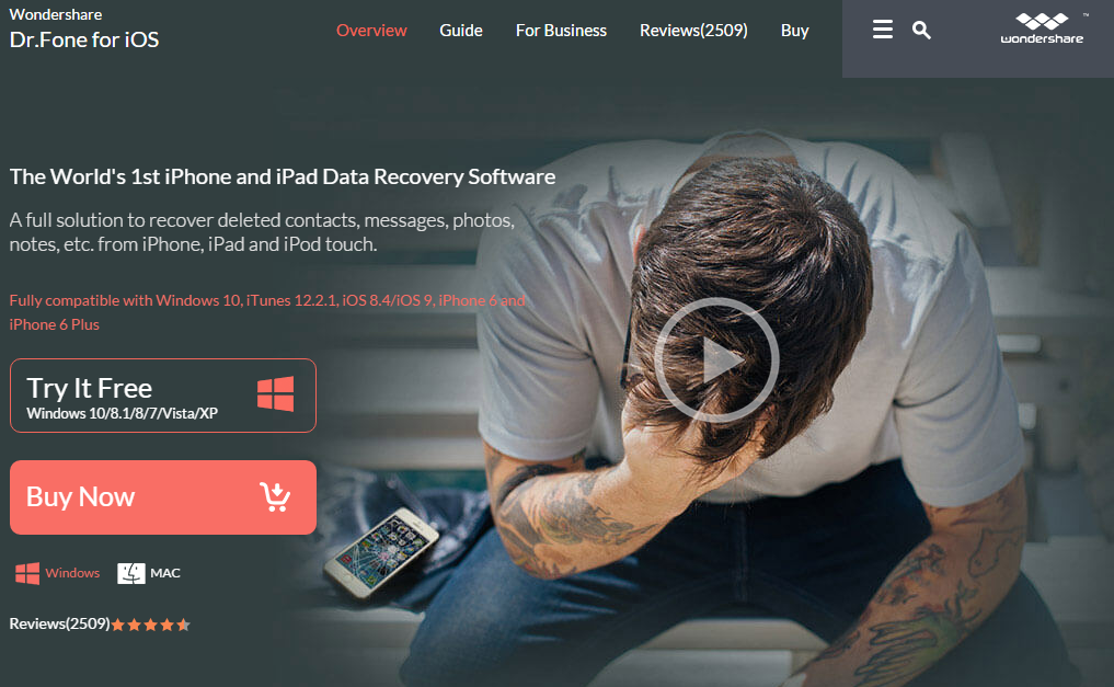 Dr.Fone for iOS Helps You Recover Deleted Data from iPhone  Sponsored Post FinSMEs