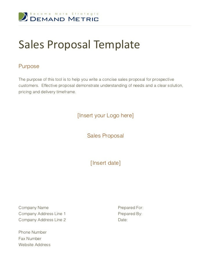 sales proposal template 1 728