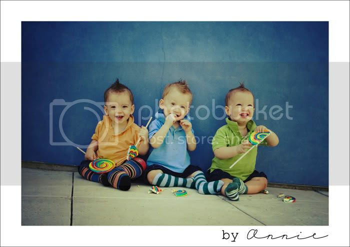triplets lollipop