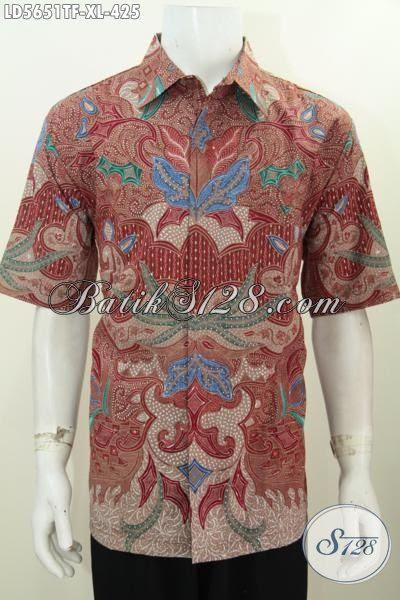 Baju Kemeja Batik Buatan Solo Indonesia Untuk Busana Kerja