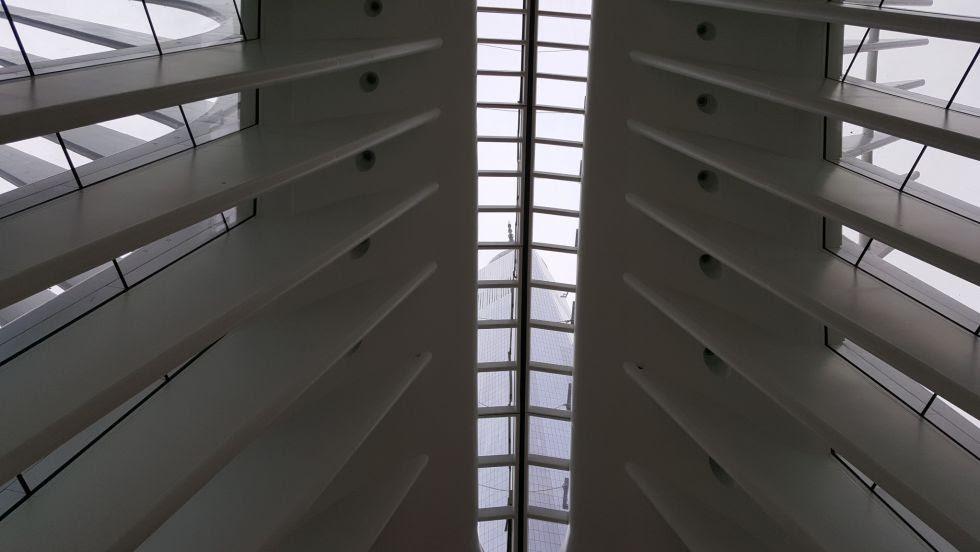 La estrutura está alineada con la Torre Uno del WTC