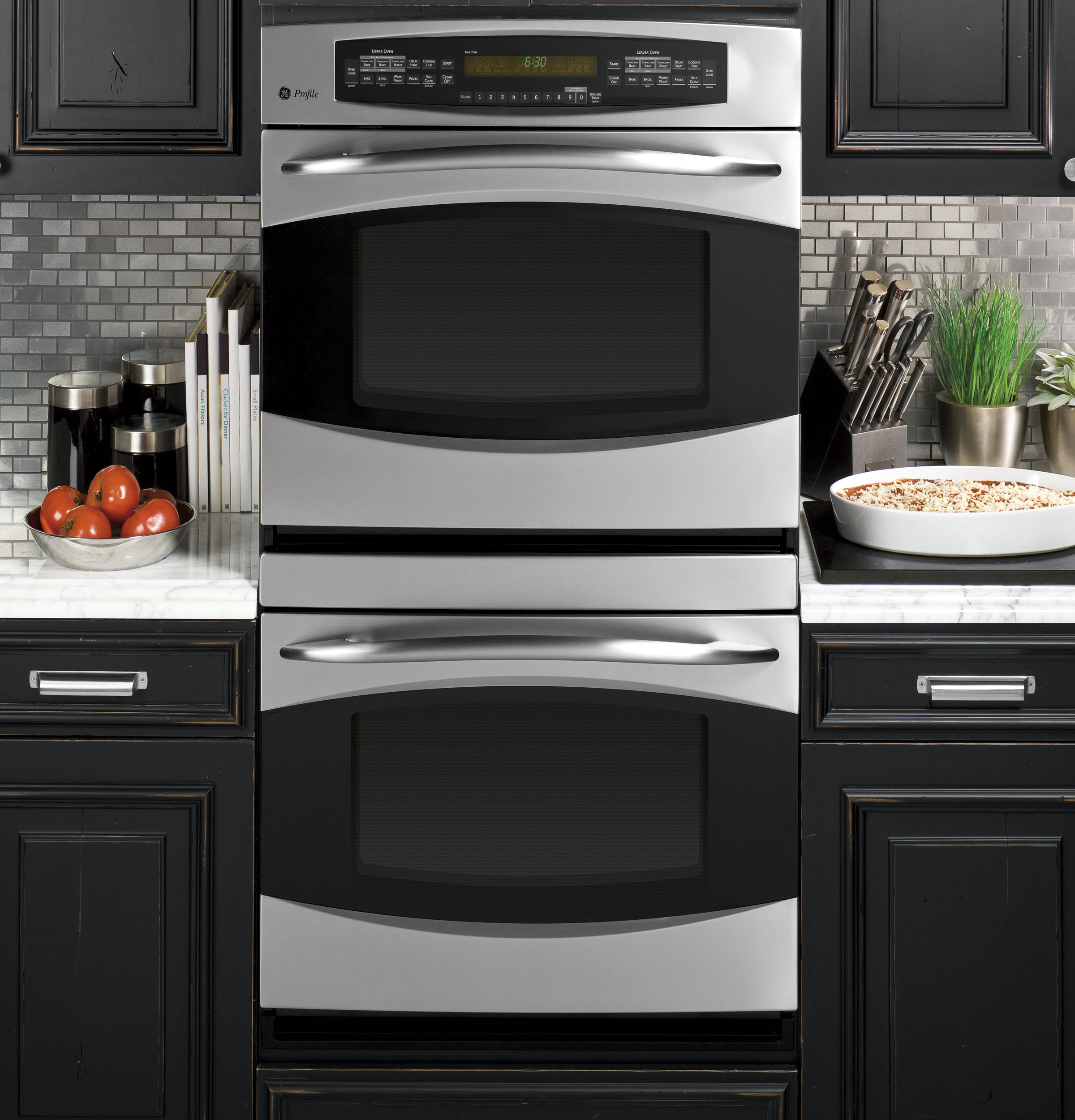 """GE Profile™ 30"""" Built-In Double Convection Wall Oven ..."""