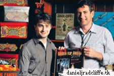 Daniel ontvangt Gouden Flip Award (Half-Blood Prince)