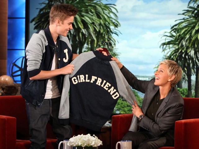 Ellen DeGeneres (5/22/12), Justin Bieber