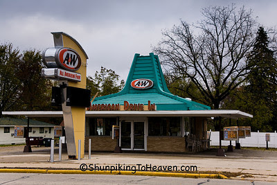 A&W - American Drive-in, Portage, Wisconsin