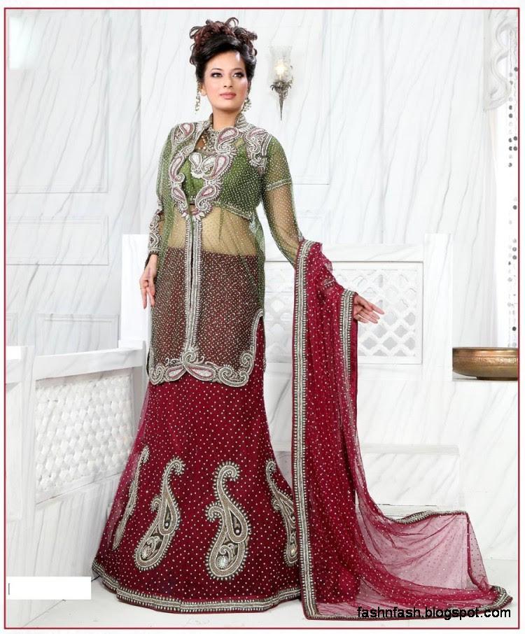 Bridal-Brides-Wedding-Dress-Beautiful-Indian-Bridal-Valima-Lehanga-Choli-Collection-6