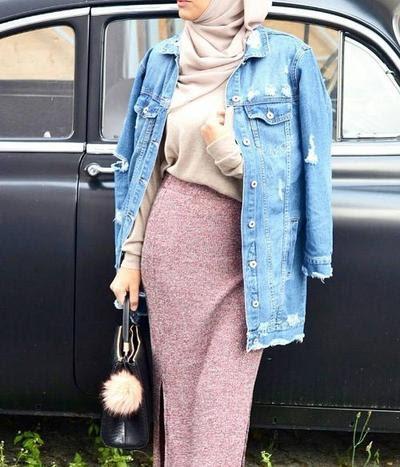 400 Koleksi Model Jaket Levis Untuk Wanita Berhijab Gratis Terbaru