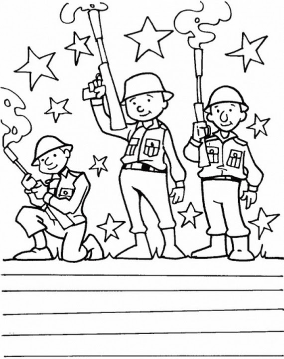 Free Remembrance Day Coloring Page | 719x570
